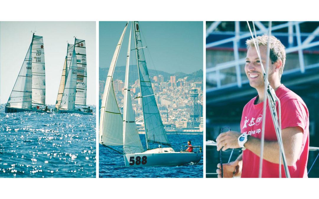 Muy buen crónica de la regata Mini Barcelona 2018 por Felip Moll en el Allevà ESP 588